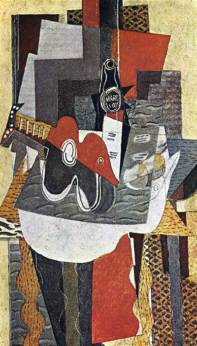 The Bottle of Marc Georges Braque