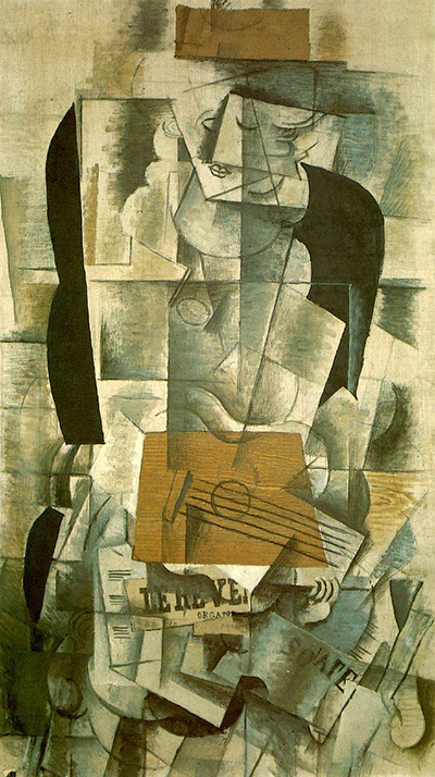 Woman with a Guitar Georges Braque